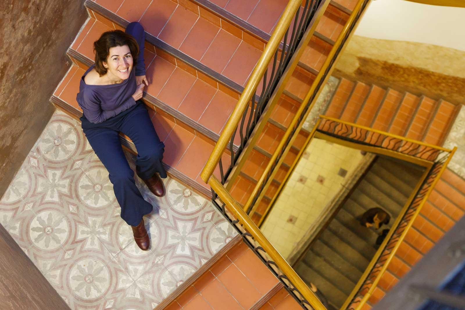 Sandra Bestráten, arquitecta, a Caladona de Barcelona