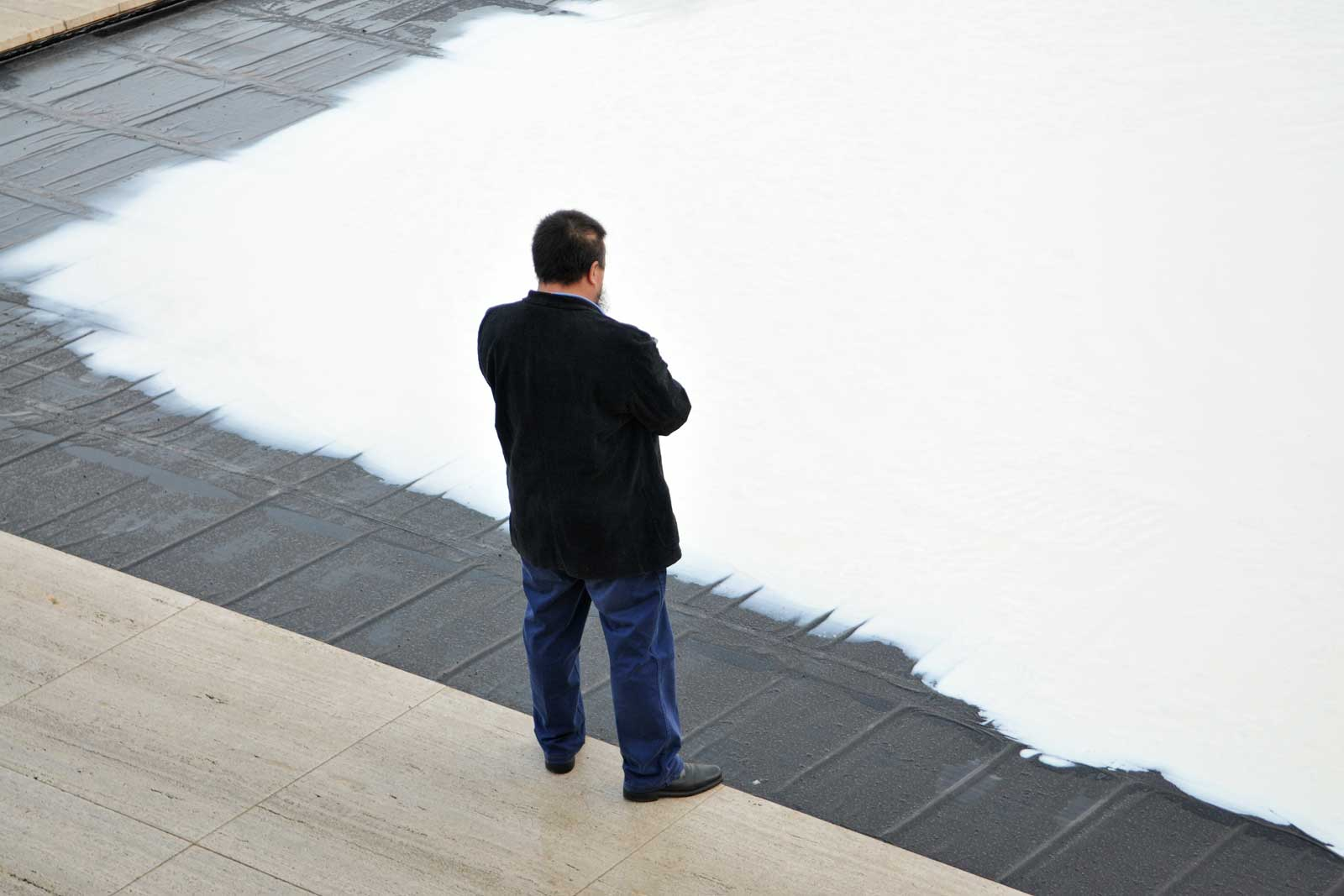 AIWEIWEI _ WITH MILK  - desembre 2009 - Pavelló Mies van der Rohe - Barcelona