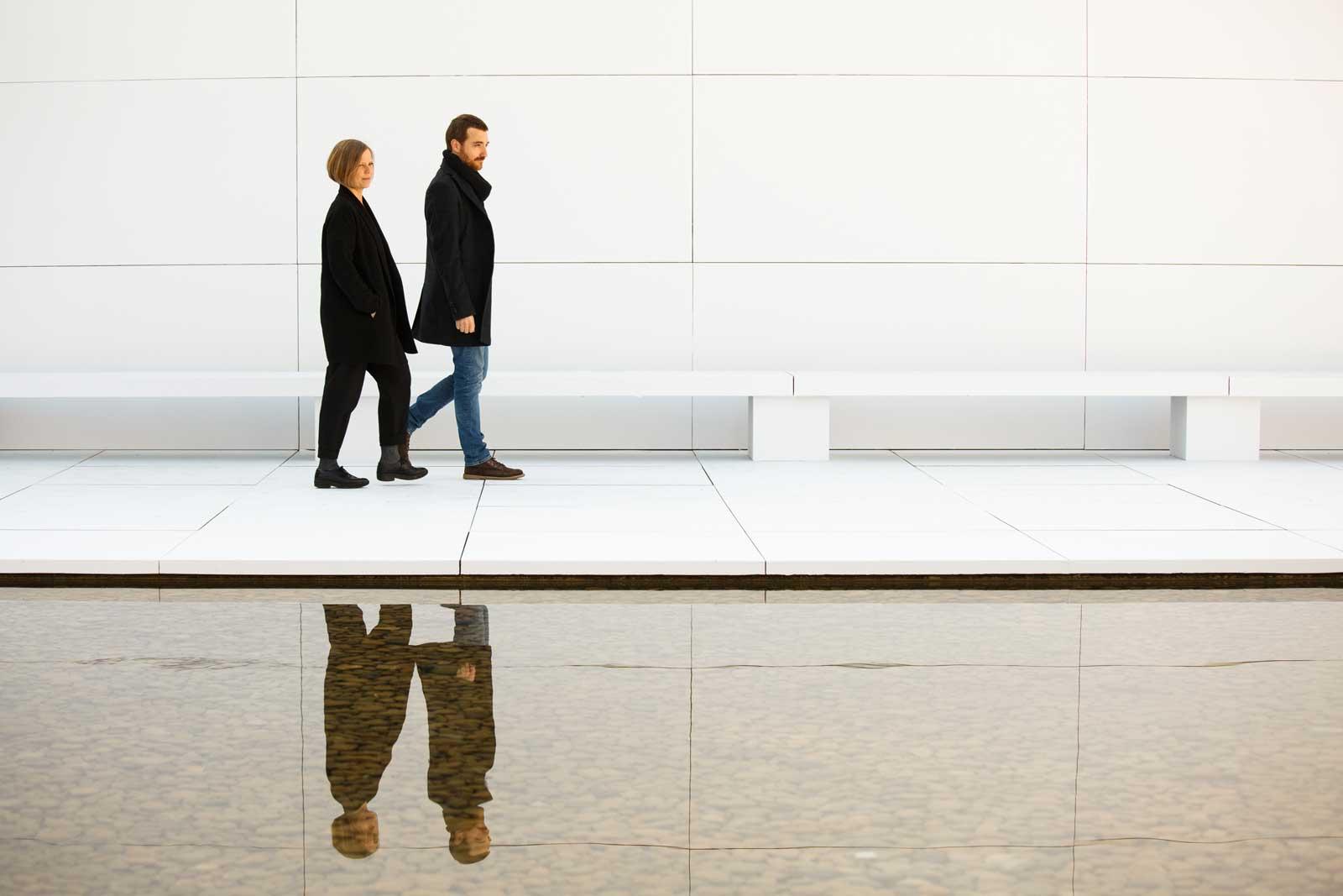 MIES MISSING MATERIALITY . Anna i Eugeni Bach – novembre 2017 – Pavelló Mies van der Rohe - Barcelona