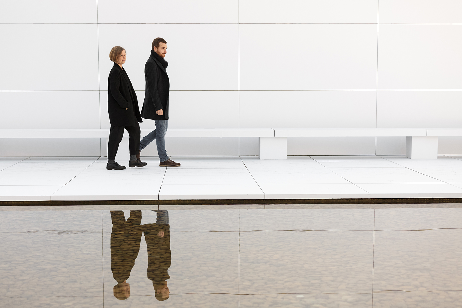 MIES MISSING MATERIALITY . Anna i Eugeni Bach – novembre 2017 – Pavelló Mies van der Rohe - Barcelona