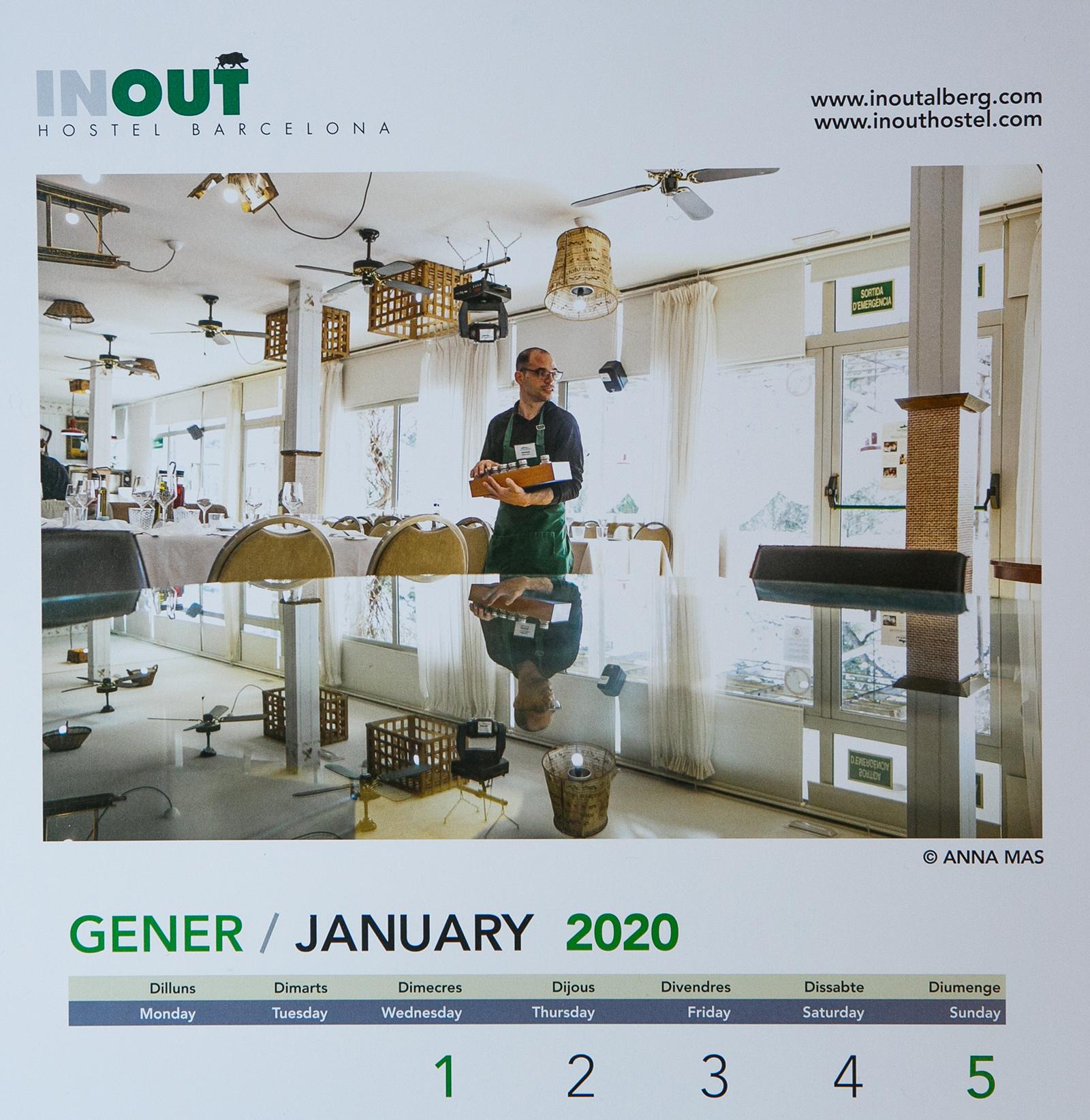 calendari 2020 Inout Hostel