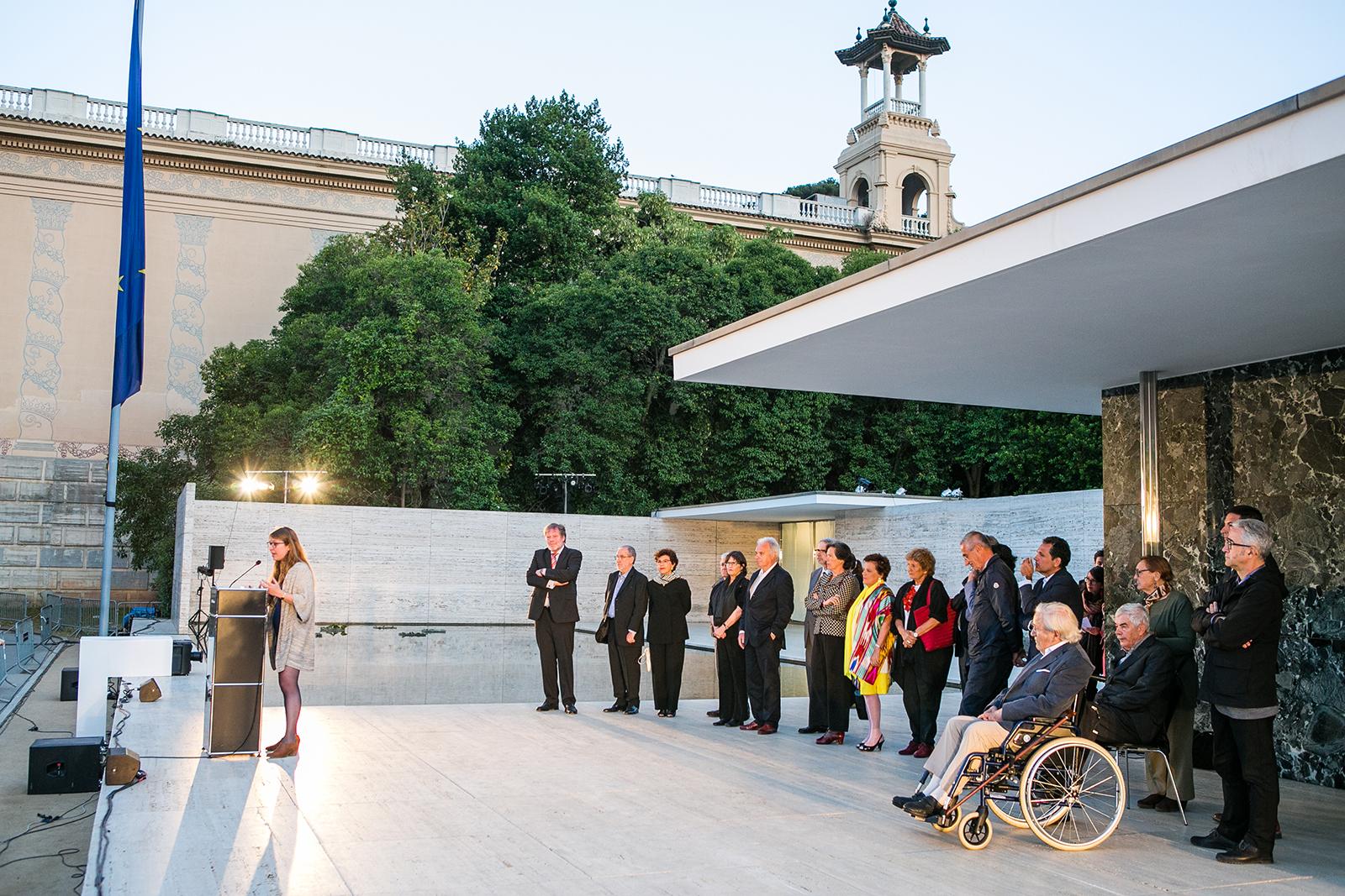 30 anys de la reconstrucció del Pavelló Mies van der Rohe – Barcelona 2016