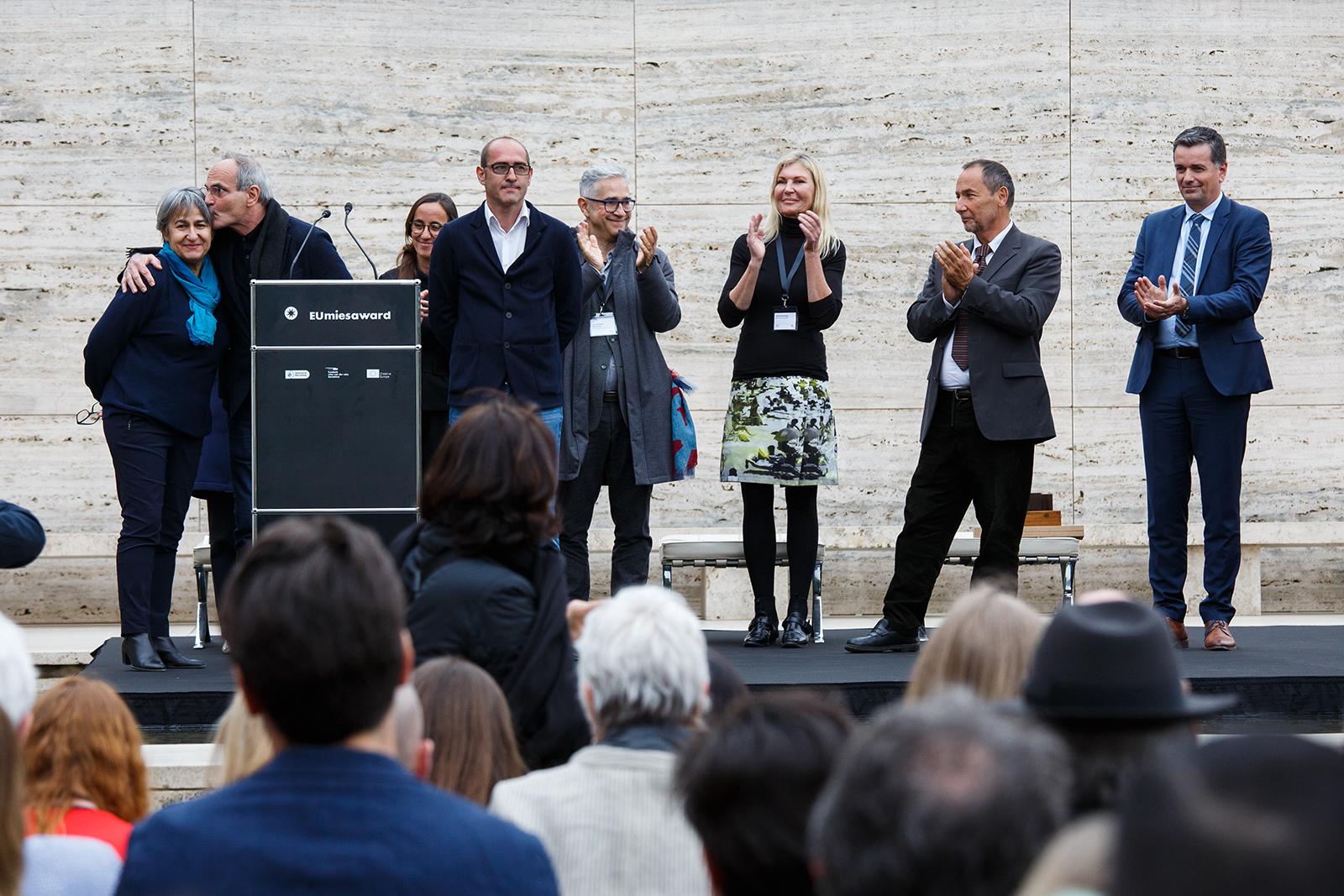 Mies Award 2019 – entrega del Premi a Lacaton & Vassal – Pavelló Mies van der Rohe 2019