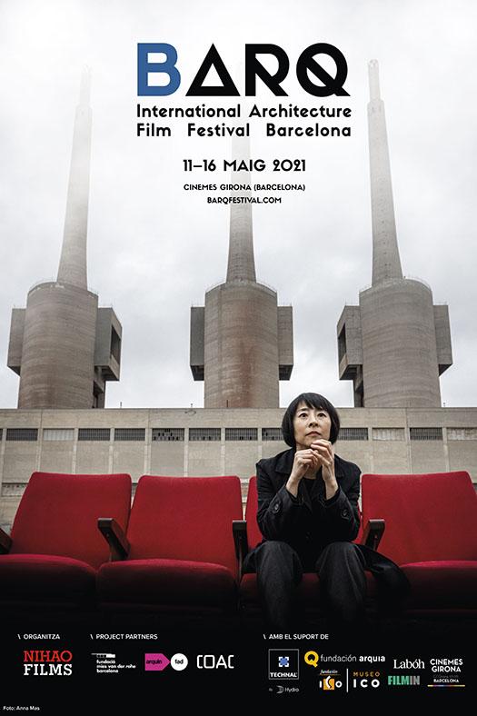 Cartell de BARQ International Architecture Film Festival Barcelona